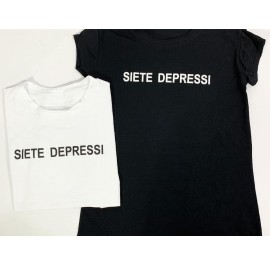 shirt siete depressi taglia unica